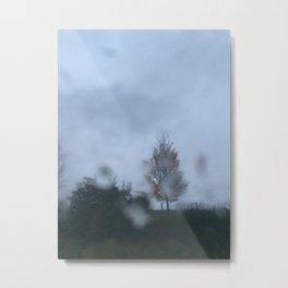 Blur Rain 4 Metal Print