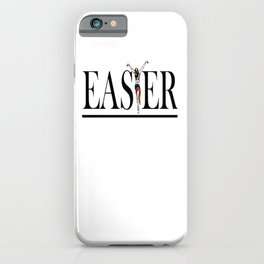 Christian and Gay Easter iPhone Case