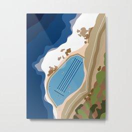 Bronte Baths Ocean Pool Sydney Australia  Metal Print