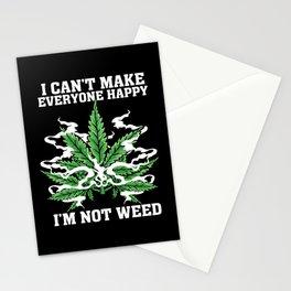 Hemp Leaf Lover Gift Idea Design Motif Stationery Cards