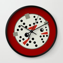 Jason Loves Fridays! Wall Clock