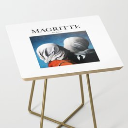 Magritte - The Lovers Side Table