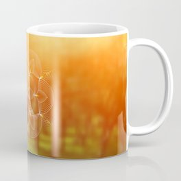 Valinor (Undying Lands)   Sacred geometry art Coffee Mug
