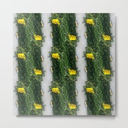 Cigarettes and Grass Metal Print