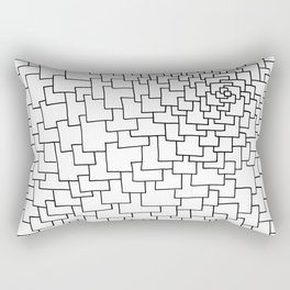 Another Brick In The Wall Rectangular Pillow