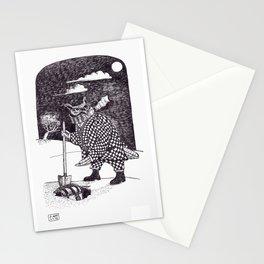 Nefarious Night Owl Stationery Cards