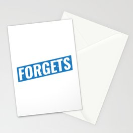 Postal Worker Remembers The Address Funny Postman Stationery Cards