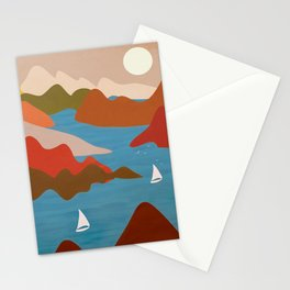 Sea Bay Sailing Stationery Cards