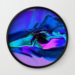 Rose 1207 - Violet Wall Clock