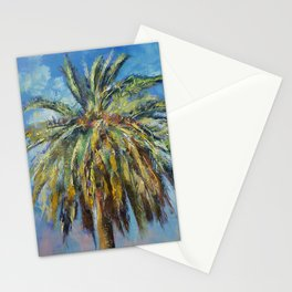 Canary Island Date Palm Stationery Cards