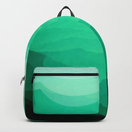 Green mountains Backpack