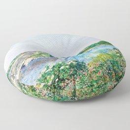 Frederick Childe Hassam - The Little Pond, Appledore - Digital Remastered Edition Floor Pillow