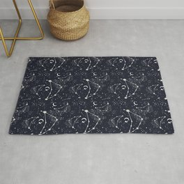 Zodiac Constellations - Capricorn Rug