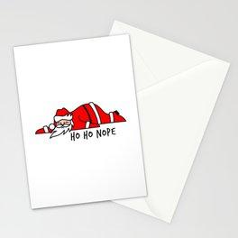 Ho Ho Nope Santa Claus Stationery Cards