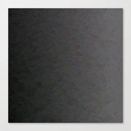 Black to gray underground urban camouflage Canvas Print