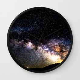 Milky Way Arch over Death Valley Wall Clock