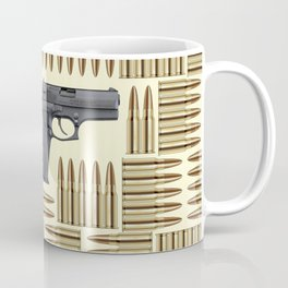Gun and bullets Coffee Mug