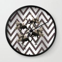 Mystic wardance Wall Clock