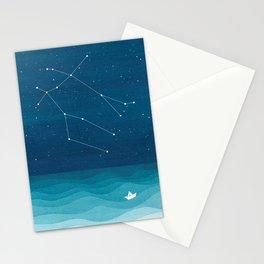 Gemini zodiac constellation Stationery Cards