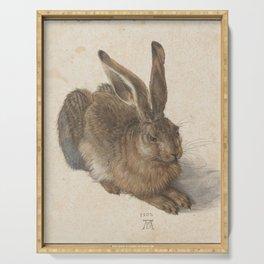 Albrecht Dürer - Hare (1502) Serving Tray