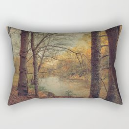 Over the River Through the Woods Rectangular Pillow