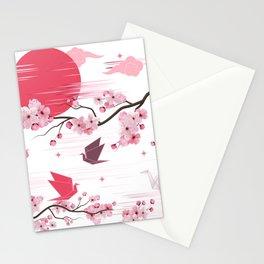 Sakura Blooms Stationery Cards