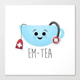 EM-Tea Canvas Print