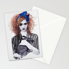 Miss Emma & Her Bunny Stationery Cards