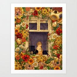 Flower Garden Kunstdrucke