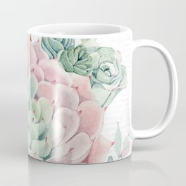 Pink Succulent by Nature Magick Coffee Mug