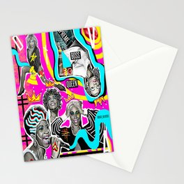 Supreme Boss Queen  Stationery Cards