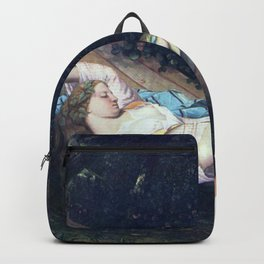 Gustave Courbet - Le hamac Backpack