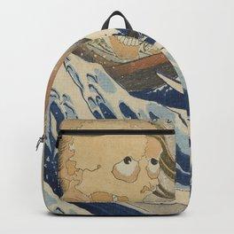 Under the wave of Kanagawa (Kanagawa oki nami ... Backpack
