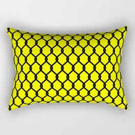 Chain-Link Fence (from Design Machine archives) Rectangular Pillow
