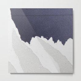 Modern Design An Abstract, Textured Piece Metal Print