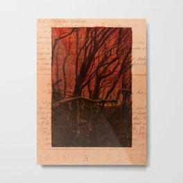JOURNAL / Among the Trees / 01 Metal Print