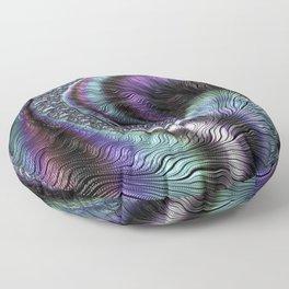 Fractal Art-Abalone Floor Pillow