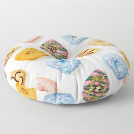 I love donuts Floor Pillow