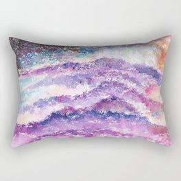 Abstract Whimsical Art Illustration. Rectangular Pillow