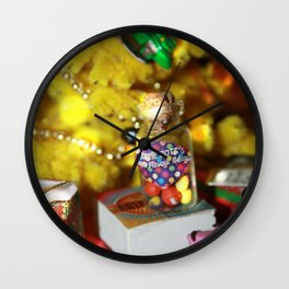 Have a Hufflepuff XMAS Wall Clock