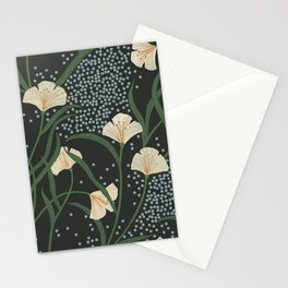 Lily Floral Stationery Cards