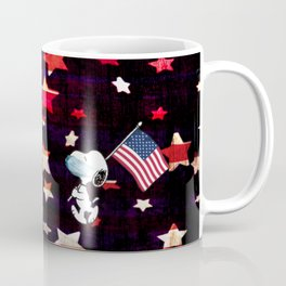 Patriotic Pup Coffee Mug