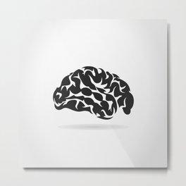 Brain6 Metal Print