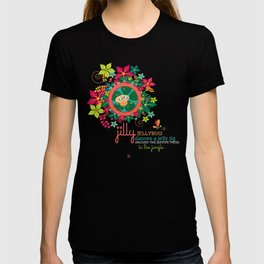JILLY jellybug® dances a jelly jig around the jupiter trees in the jungle. T-shirt