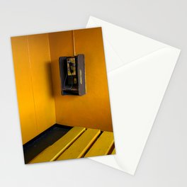 Pay Telephone and Yellow Wall South of the Border South Carolina Stationery Cards