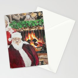 A Cozy Christmas Couple Stationery Cards