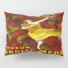 Vintage poster - Liqueur Cordial-Medoc Pillow Sham