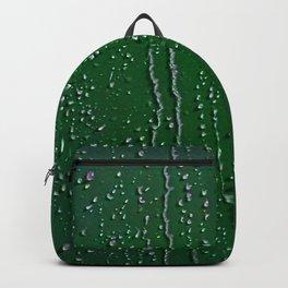 Emerald Green Rain Backpack
