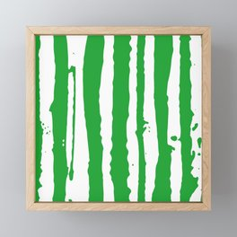 Runny Green Eggs  Framed Mini Art Print