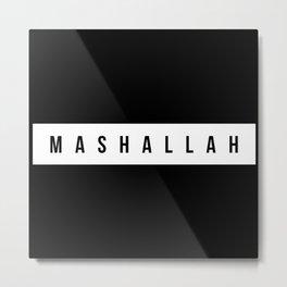 Maschallah, Jugendwort, Wort des Jahres Metal Print